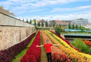 Wisata Rainbow Garden Lembang yang Wajib Dikunjungi