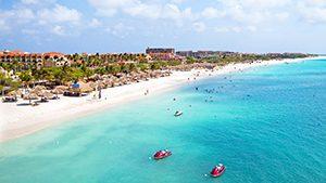 Eagle Beach, Karibia