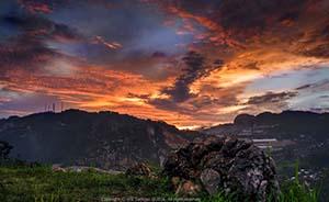 9 Tempat Sunset di Bandung yang Indah dan Menarik
