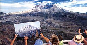 Gunung St. Helens, USA