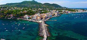 Pulau Ischia, Italia