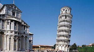 Menara Pisa, Italia