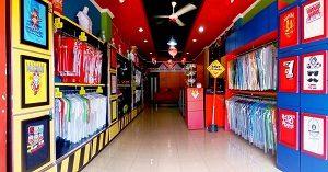 kaos khas Palembang