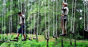 36 Tempat Wisata Outbound diBandung Paling Seru