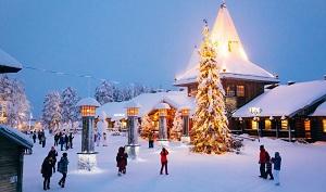 Liburan Natal di Rovaniemi