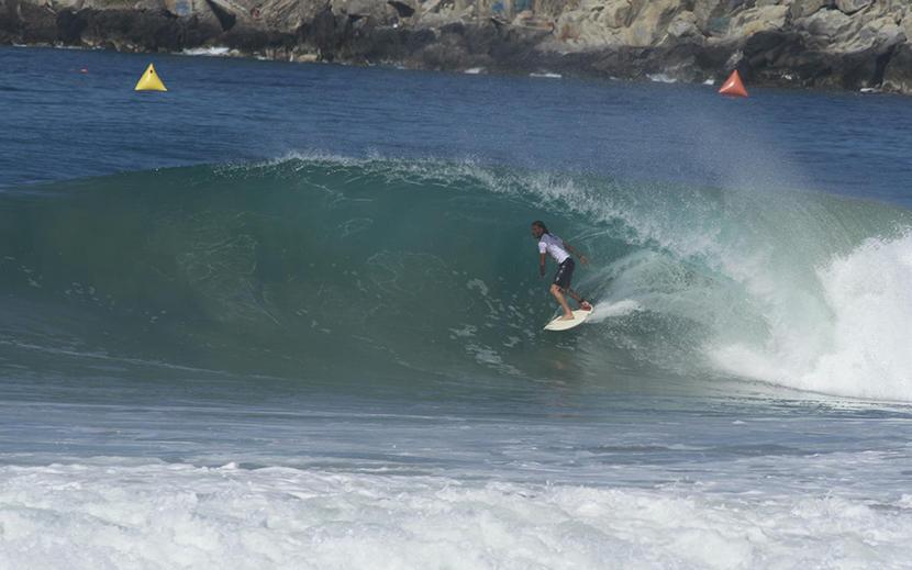 Surf ALAS: Lucas Madrid finaliza 9° en Puerto Escondido - Tenfield.com