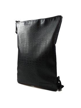 Mini Backpack  [Crocodile Black]