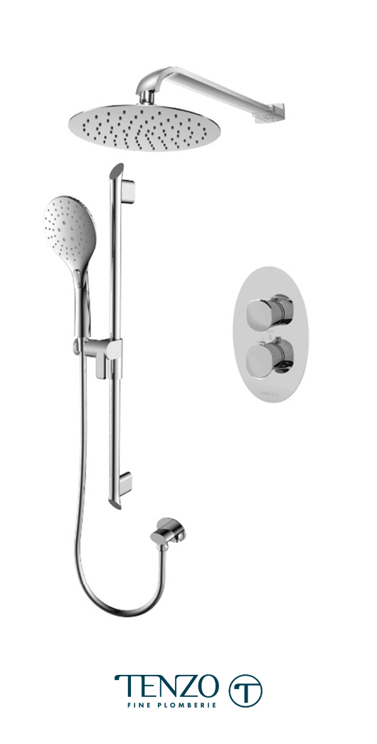 FLT32-20311-CR - Shower kit, 2 functions