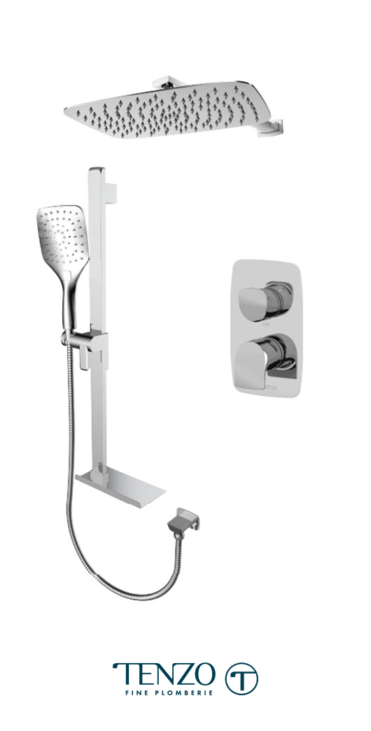 NUT32-20310-CR - Ensemble de douche T-Box, 2 fonctions, Nuevo
