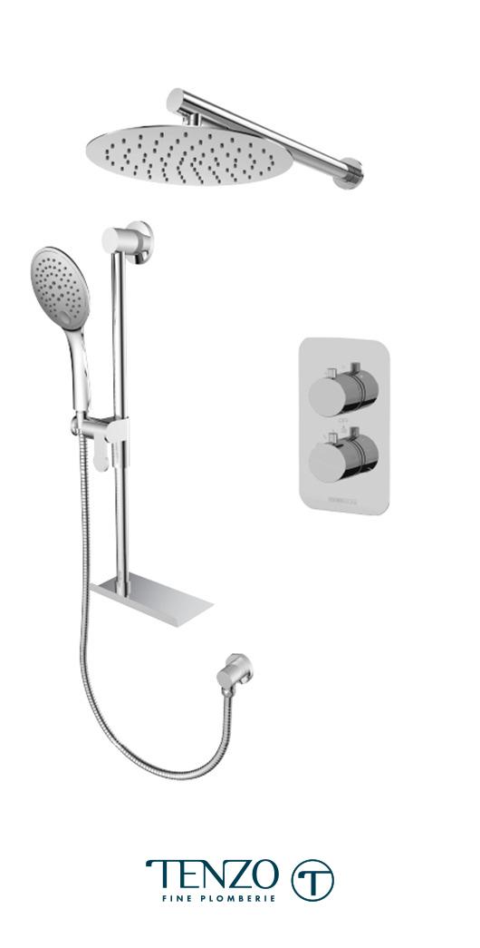 RUT32-20311-CR - Shower kit, 2 functions