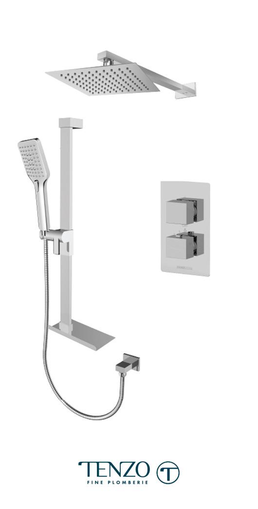 SLT32-20311-CR - Shower kit, 2 functions