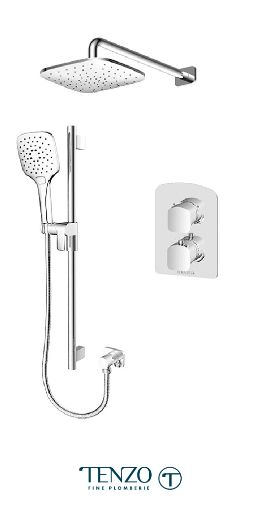 DET32-20114-CR - Shower kit, 2 functions
