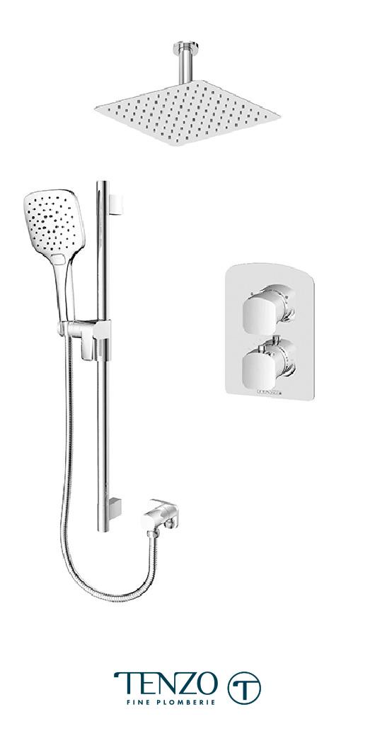 DET32-21131-CR - Shower kit, 2 functions