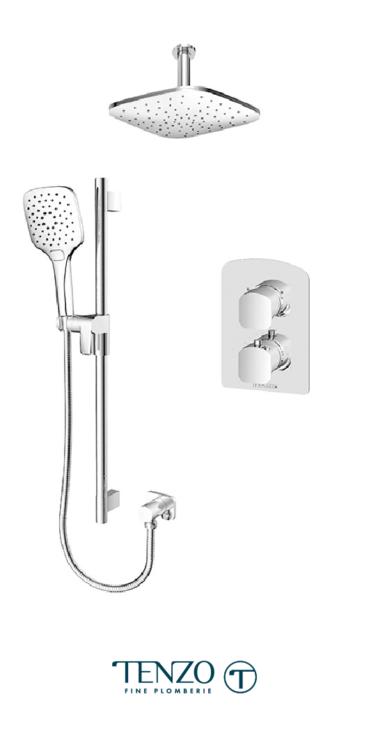 DET32-21134-CR - Shower kit, 2 functions
