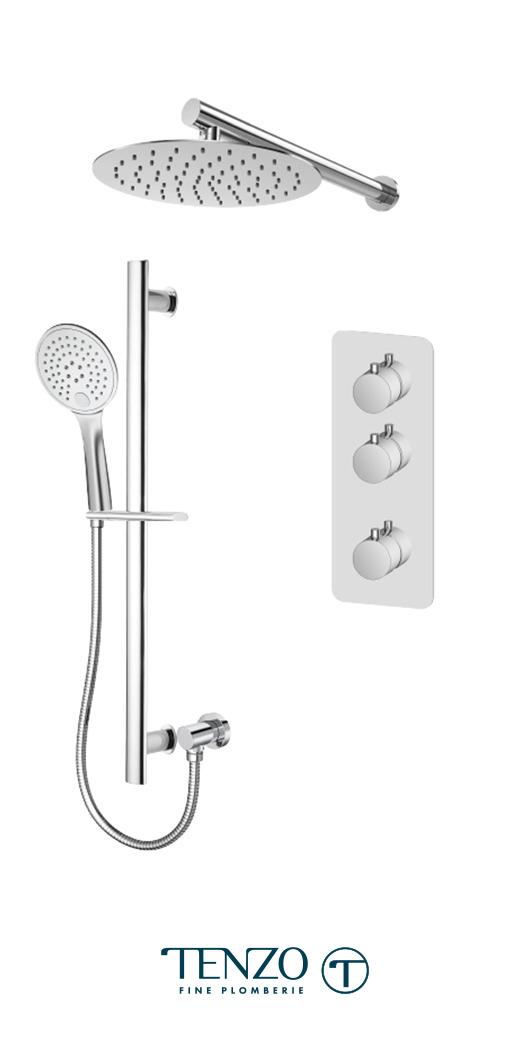 RUT42-20216-CR - Shower kit, 2 functions