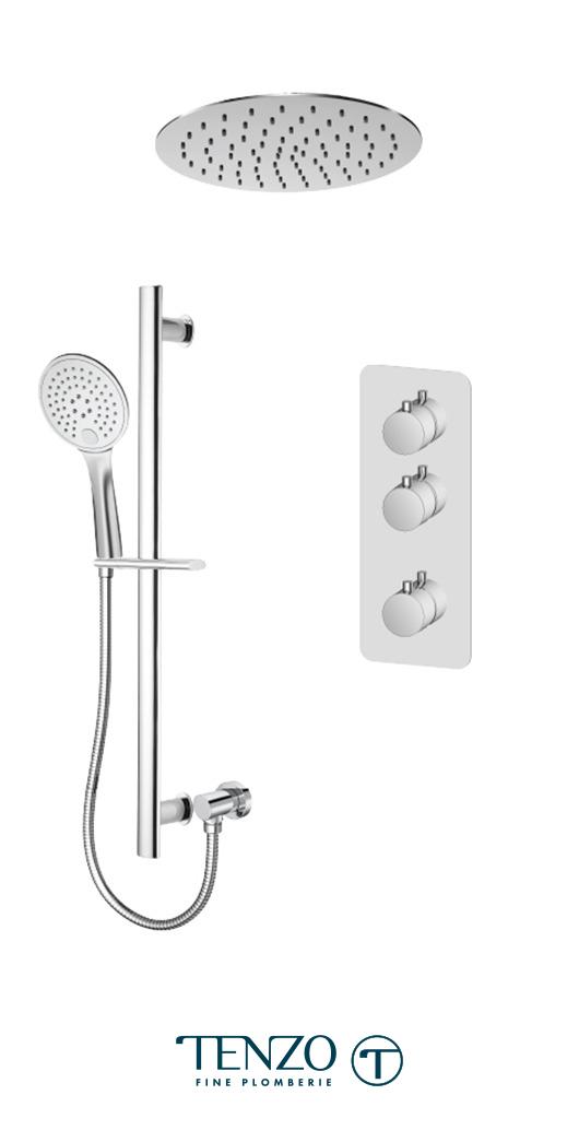 RUT42-21263-CR - Shower kit, 2 functions