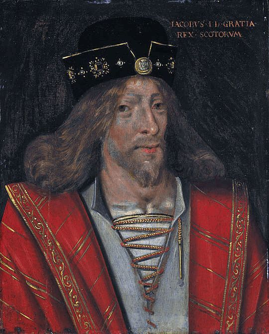 King of Scots James I