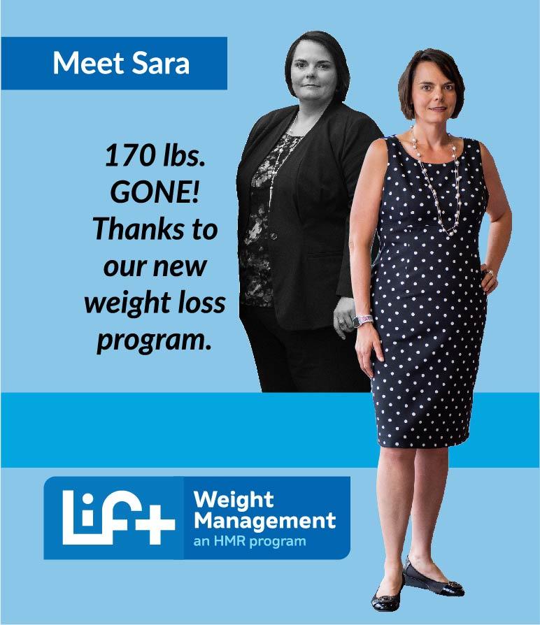sara weight loss story