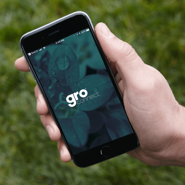 Gro® Connect app in use on apple device