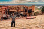 Teton Guitar Artist Kit Nolan at Red Rocks Amphitheatre