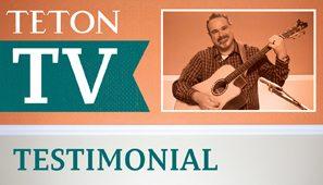 Teton Guitar Testimonial
