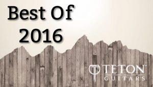 Teton Guitars 2016 in Review