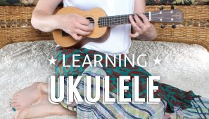 Learning the Ukulele with Teton