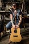 Lorin Walker Madsen and his Teton Guitar