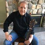 Mike Christiansen and his Classical Teton Guitar