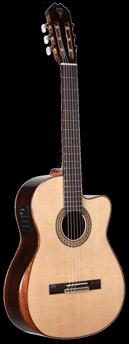 STC150CENT-AR Teton Classical Arm Rest Guitar