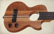 STEU102 Teton Solid Body Electric Ukulele
