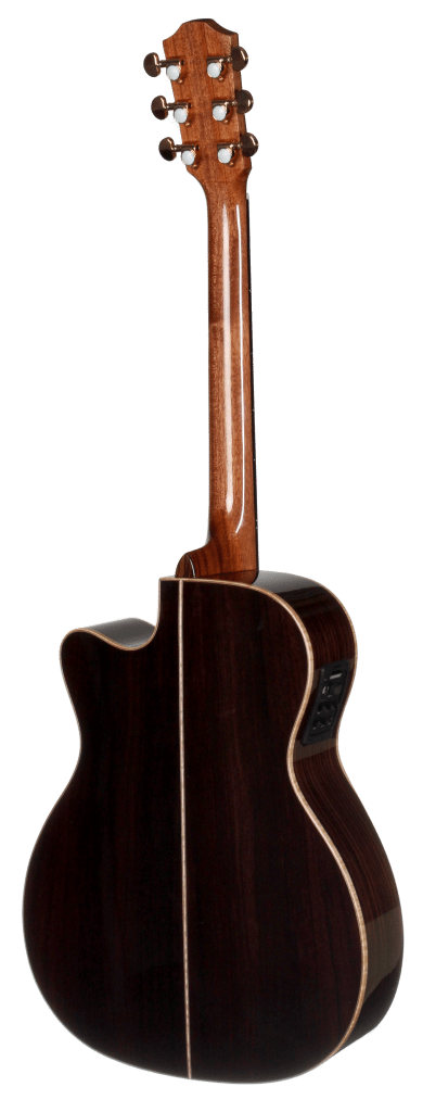 STG150CENT-AR Arm Rest Teton Guitar with Fishman Electronics - Back and Sides