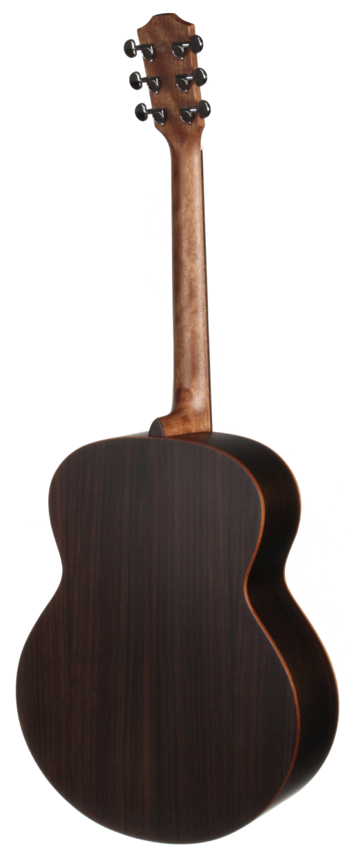 STJ155NT Jumbo Teton Guitar - Back and Sides