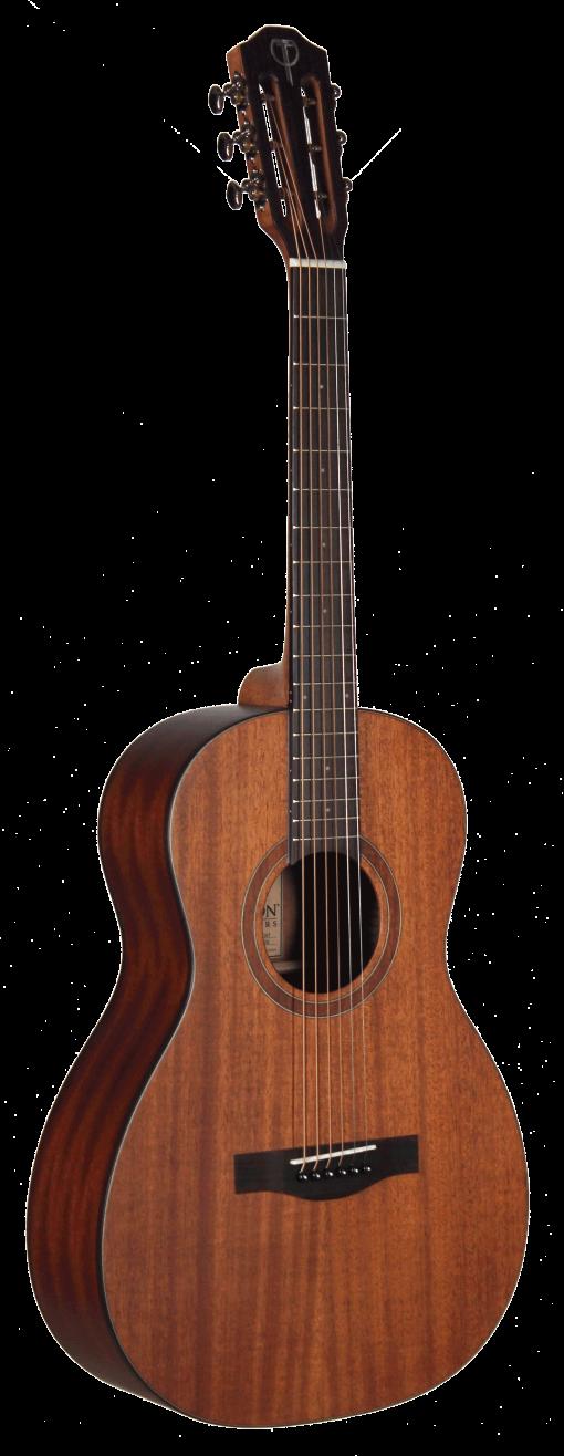 STP103ENT Teton Acoustic Parlor Guitar