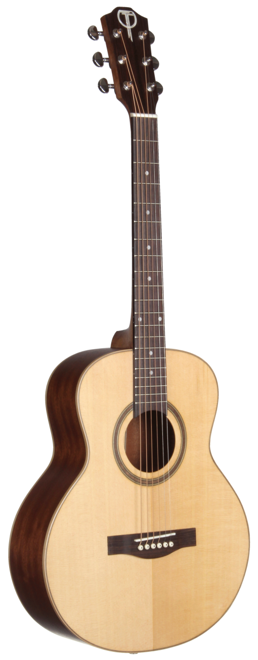 STR100NT-OP Open Pore Range Teton Guitar - Back and Sides