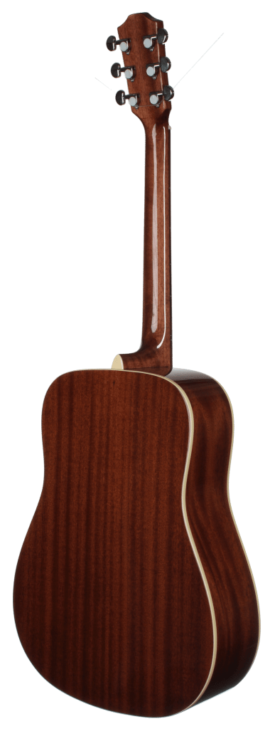 STS100DVS Acoustic Dreadnought Teton Guitar - Back and Sides