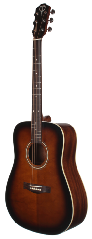 STS100DVS Acoustic Dreadnought Teton Guitar