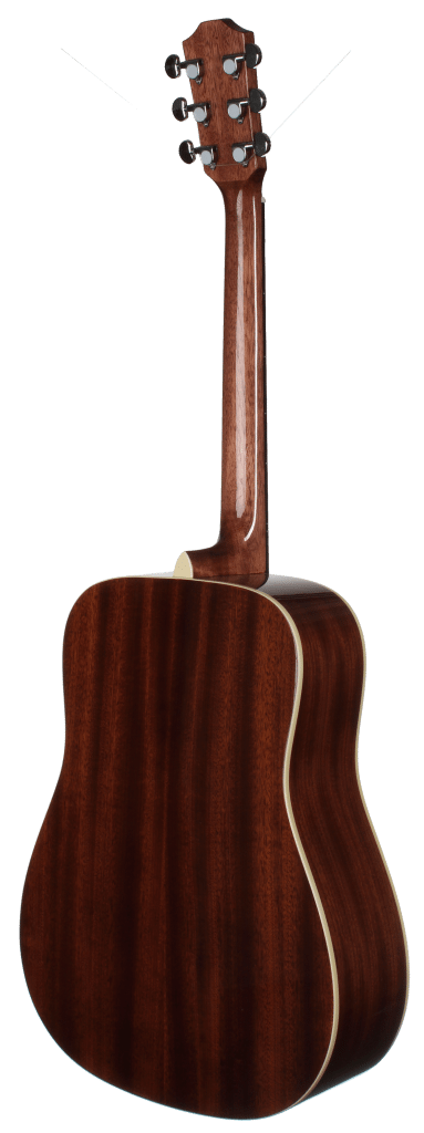 STS100TBL Acoustic Dreadnought Teton Guitar - Back and Sides