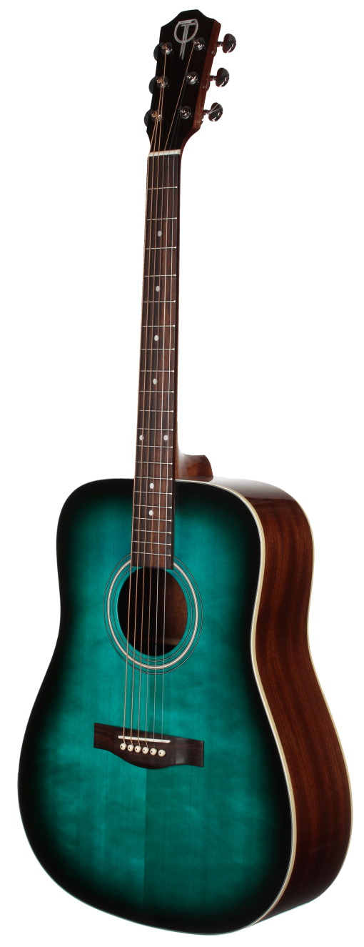 STS100TBL Acoustic Dreadnought Teton Guitar