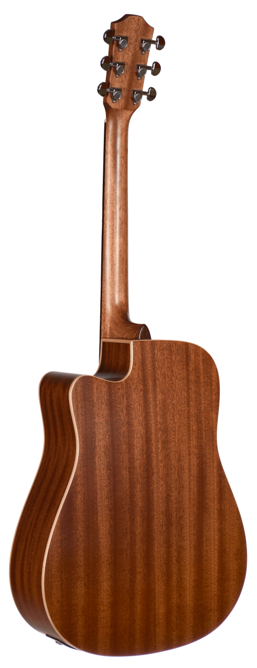 STS105CENT Teton Acoustic Guitars Cutaway Back and Sides