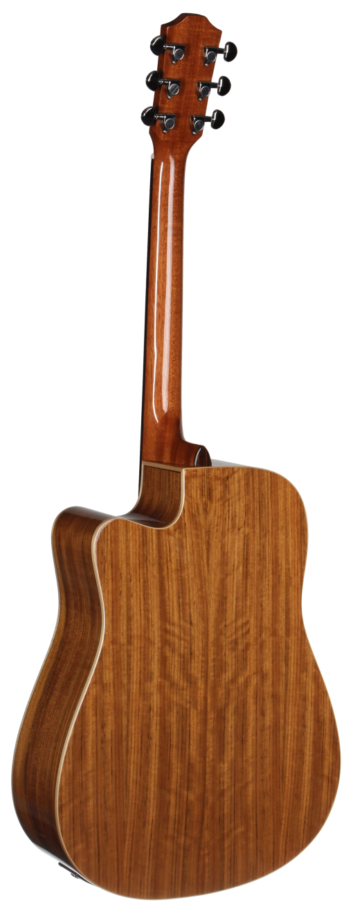 STS110CENT Teton Dreadnought Acoustic Guitar - Back and Sides