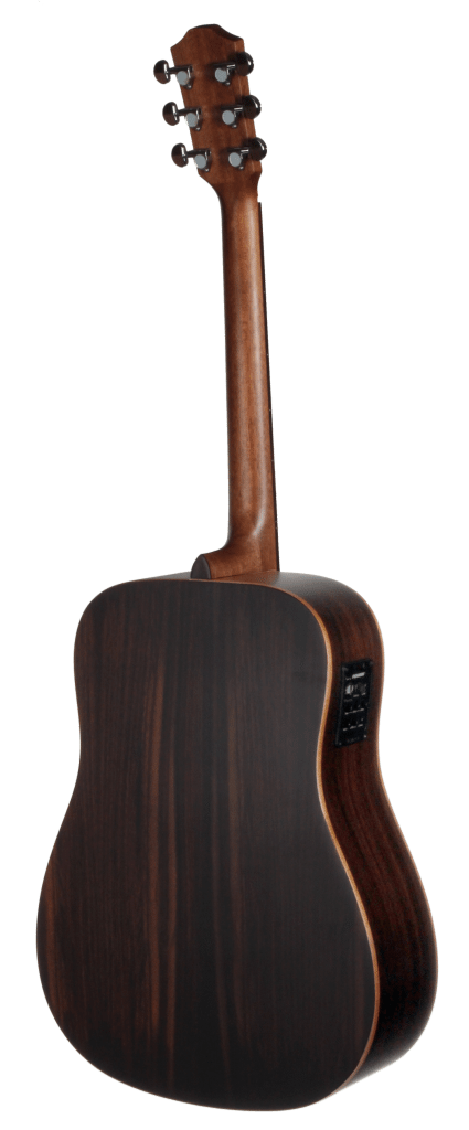 STS150ENT Teton Dreadnought Acoustic Guitar with Fishman Electronics - Back and Sides