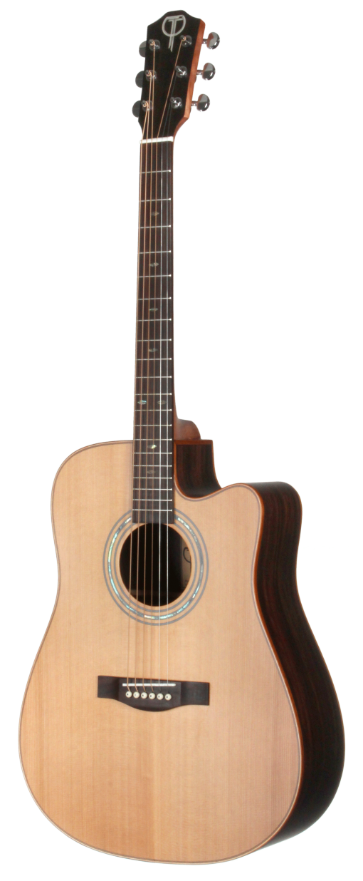 STS155CENT Acoustic Teton Guitar