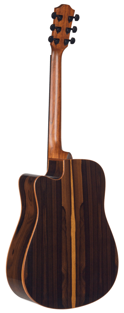 STS160ZICENT Teton Dreadnought Guitars with Zizicote Back and Sides