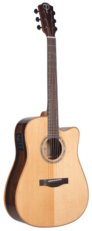 STS160ZICENT Teton Dreadnought Guitar