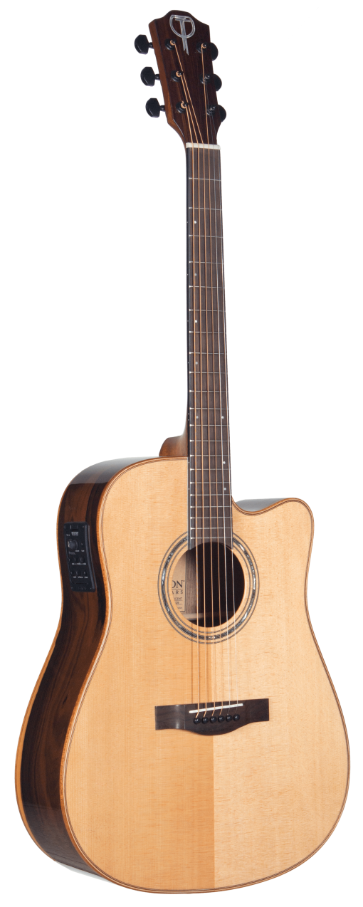 STS160ZICENT Teton Dreadnought Guitar