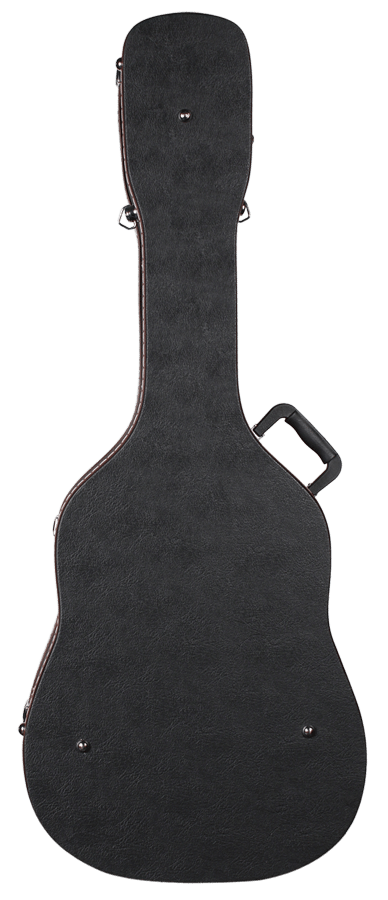 TAF-1 Teton Hardshell Dreadnought Archtop Guitar Case Back View