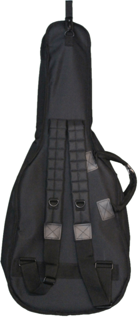 The back side of Teton's TC675 3/4 Scale Gig Bag