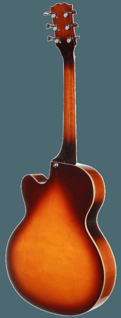 TEF50VS Teton Electric Guitar Back Side