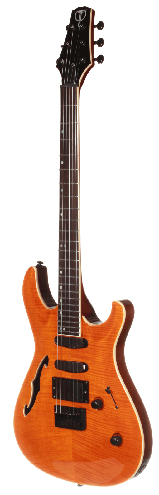 TRS20NT Teton Electric Guitar with Flamed Maple Top